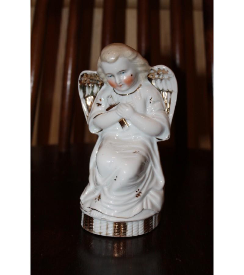 Antikvarinis porcelianinis angelas. Kaina 28
