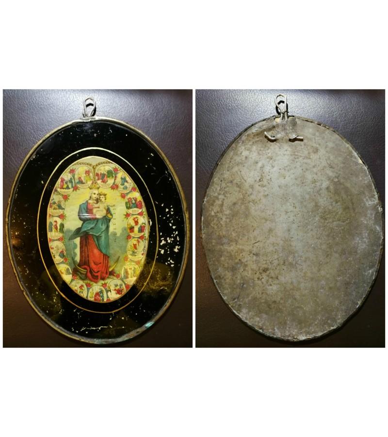 Sv. Marijos abrozdas antikvarinis. Kaina 42