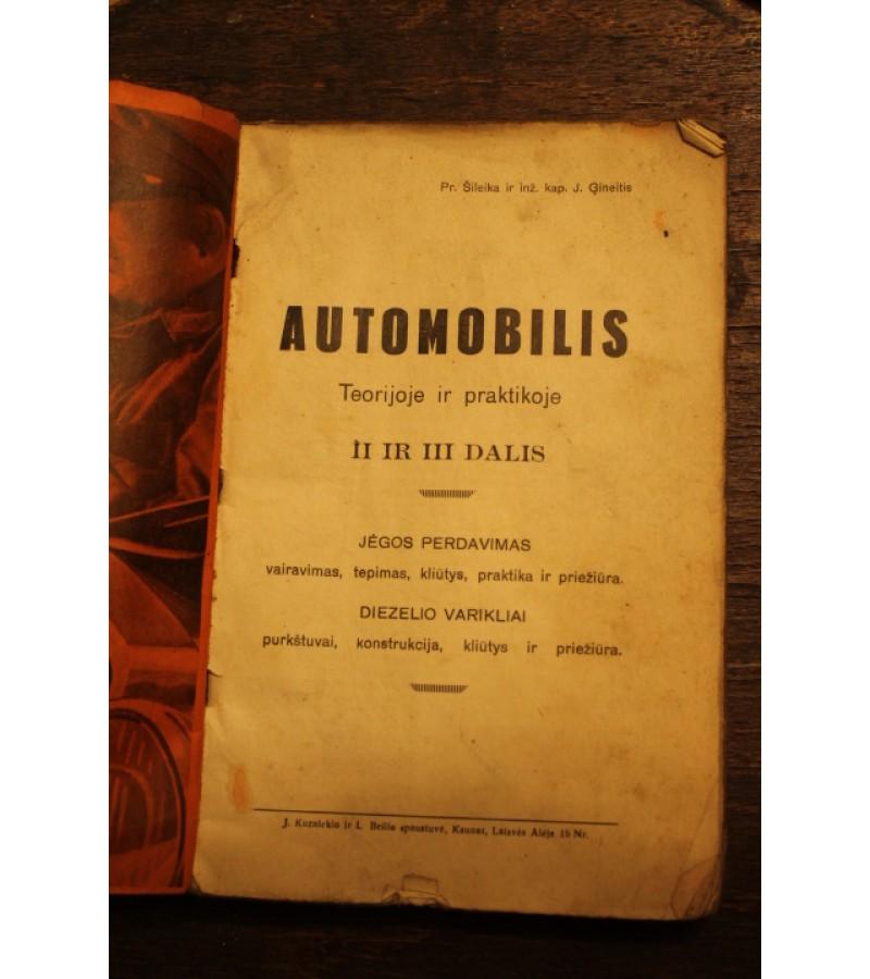 Automobilis teorijoje ir praktikoje. Kaina 62 Eur.