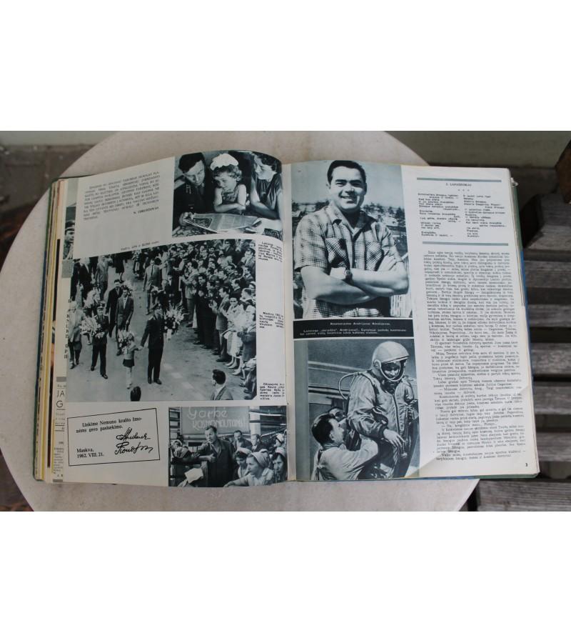 Jaunimo gretos. 1959 m.,1960 m. Kaina 11 Eur.