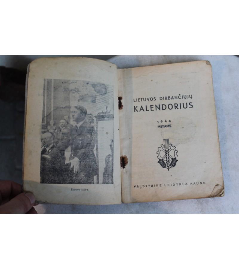 1944 m. dirbanciuju kalendorius. Kaina 17