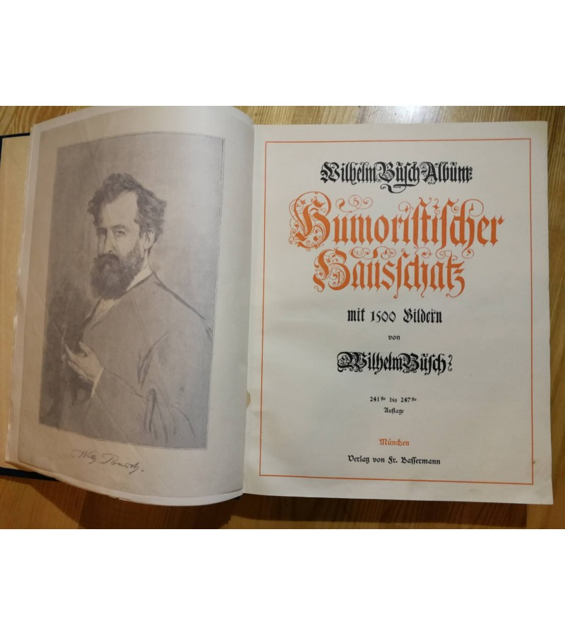 Albumas Karikaturos Wilhelm Busch, 1924 m. Kaina 32