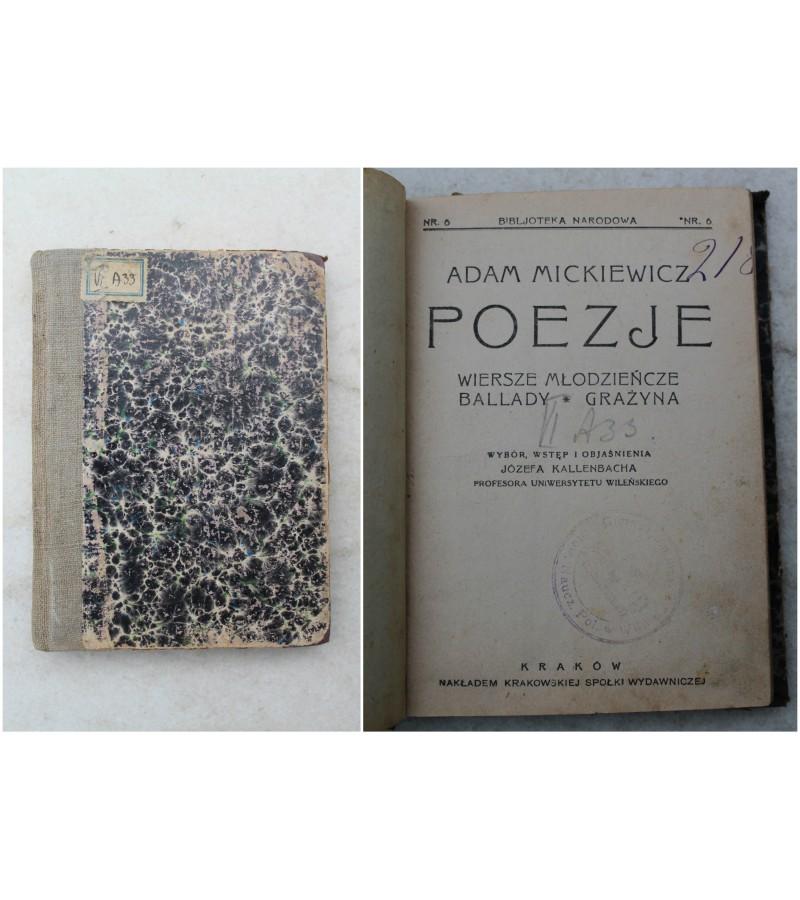 Adam Mickiewicz Poezje. Kaina 63