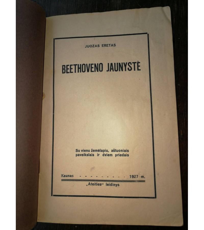 Bethoveno jaunyste. J. Eretas. 1927 m. Kaina 8