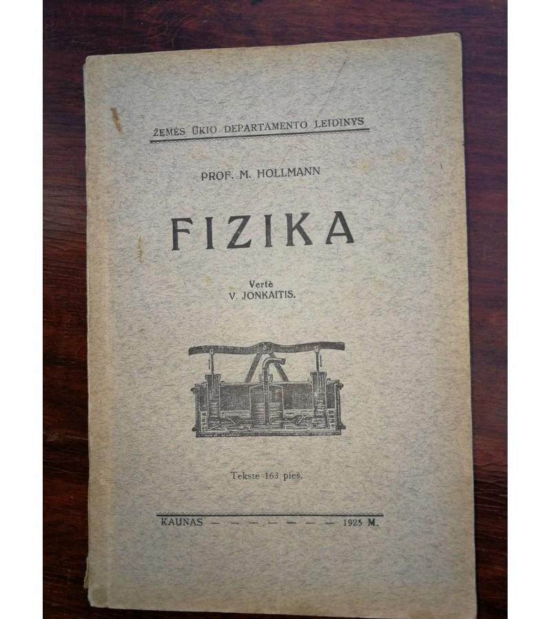 Fizika. 1925 m. Kaina 8