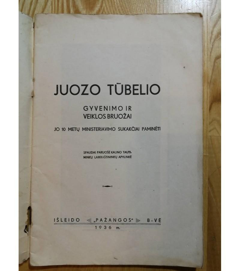 Juozas Tubelis. 1936 m. Kaina 11