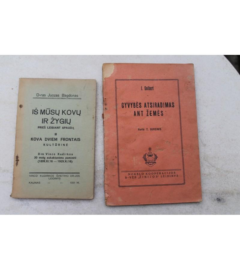 Dvi knygos po 6