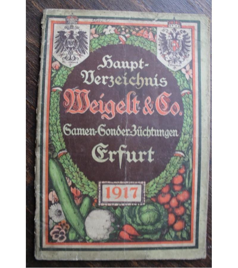 1917 m. augalu katalogas. Kaina 8 Eur.