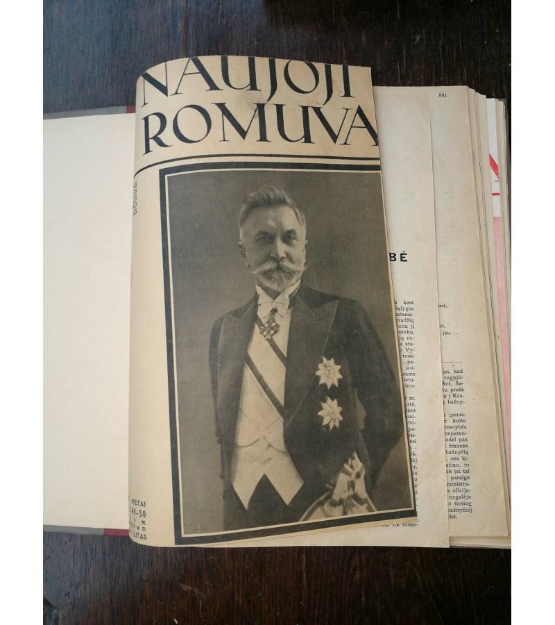 Iristi Naujoji Romuva zurnalai, 1933 m. Kaina 18