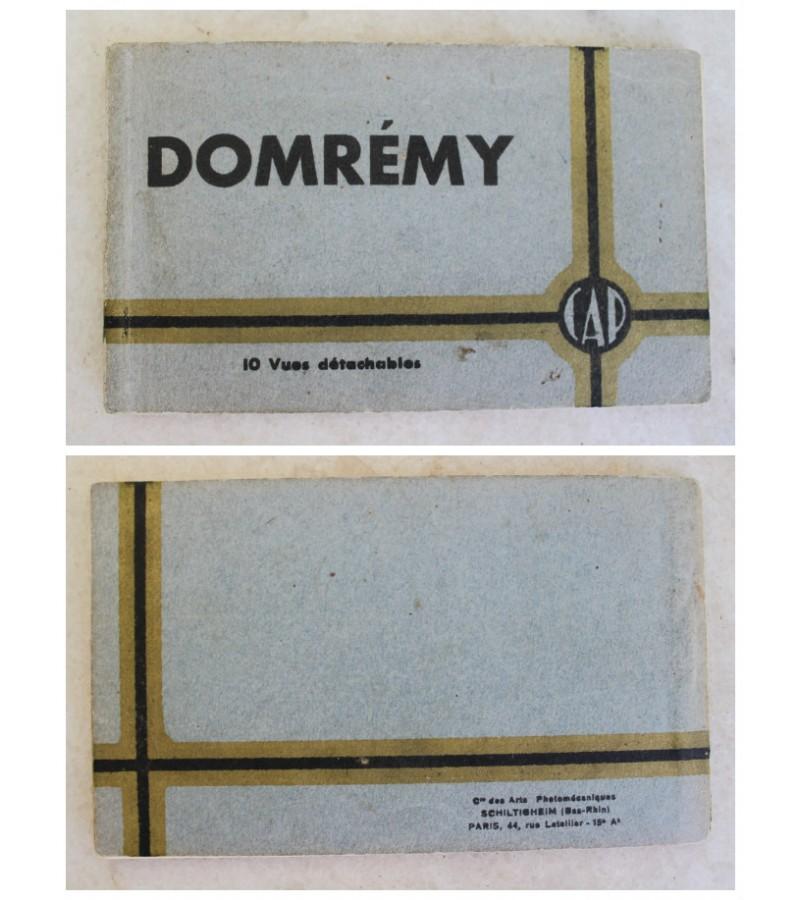 Antikvariniu atviruku rinkinys Domremy, Kaina 3 uz viska