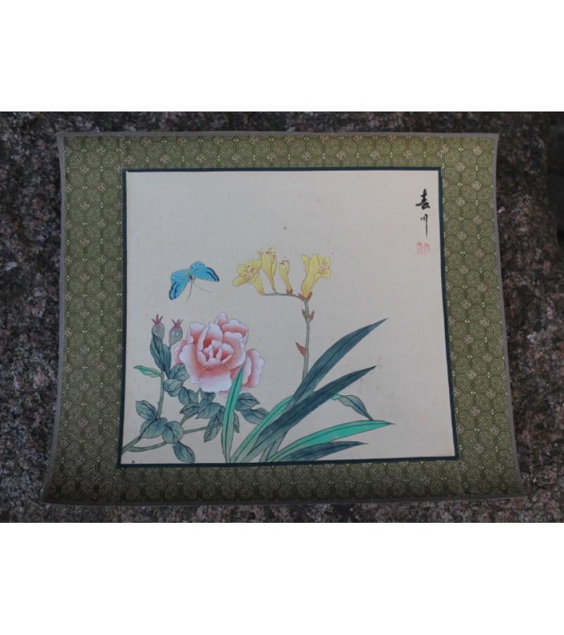 Hand-painting. Made in China. Silkas, popierius, tapyba. 1 vnt. Kaina 17 Eur.