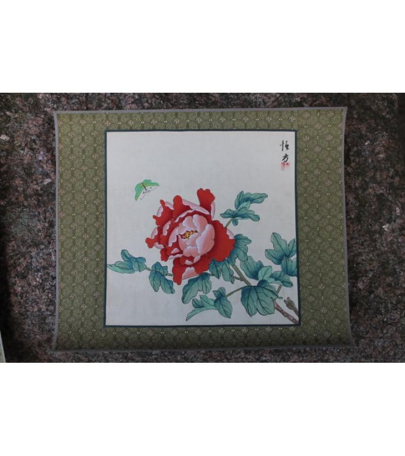 Hand-painting. Made in China. Silkas, popierius, tapyba. 4 vnt. Kaina po 17 Eur.