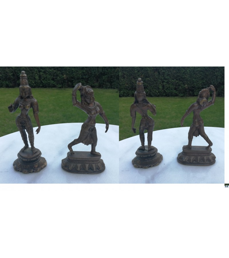 Indiskos statuleles. 2 vnt. Kaina po 28