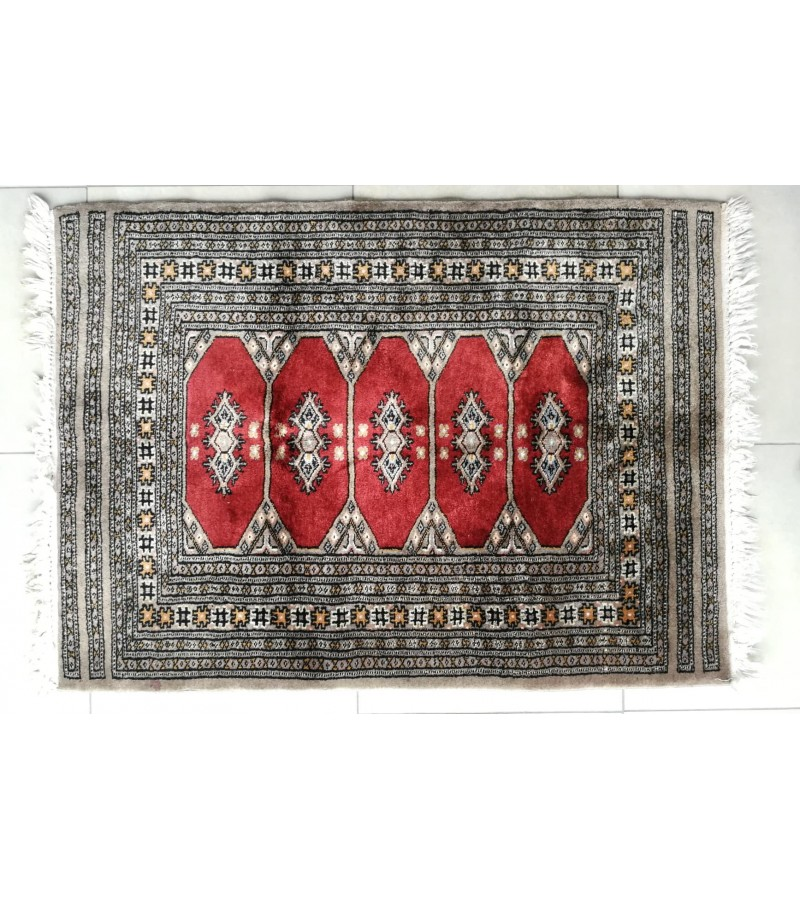 Kilimas, Pakistanas (Nr.3), vilnonis. 100 % pure wool pile. Product of Pakistan, Dydis 111 x 81 cm. Kaina 56