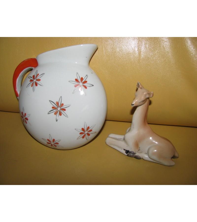 Rygos porcelianas. Liko tik stirniukas - 3 Eur.