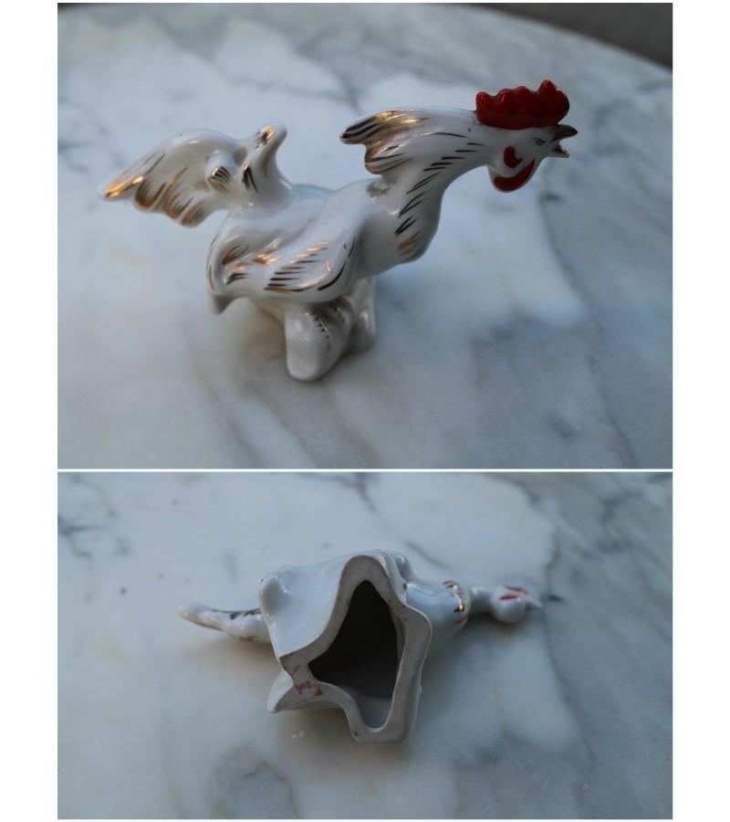 Porcelianinis gaidys. Ryga. Kaina 18