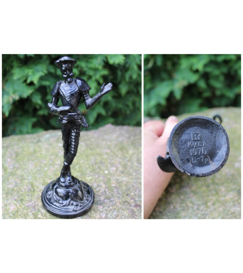 Don Kichoto spyzine statulele. Kaina 42
