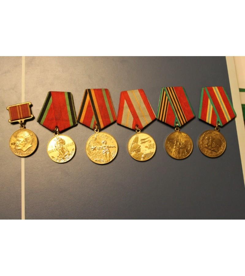 Tarybiniai kariniai medaliai. Kaina po 7 Eur. PARDUOTAS antras.