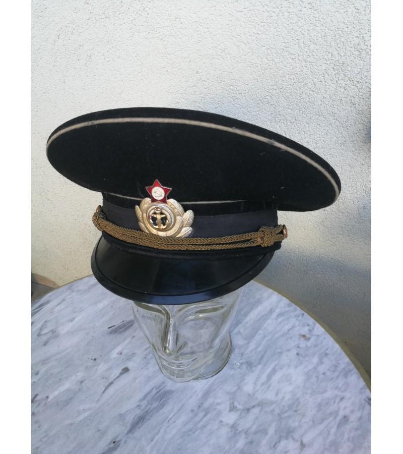 Uniformine zemesniojo rango karininko kepure. Kaina 32
