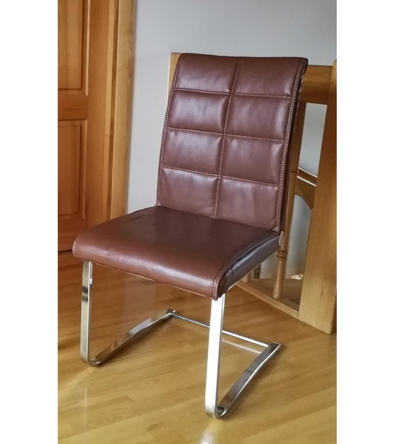 Kėdė, Eco odos, Modern stiliaus ergonomiška. Kaina 32