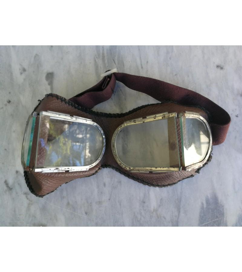 Vintaziniai masinisto akiniai. Kaina 23