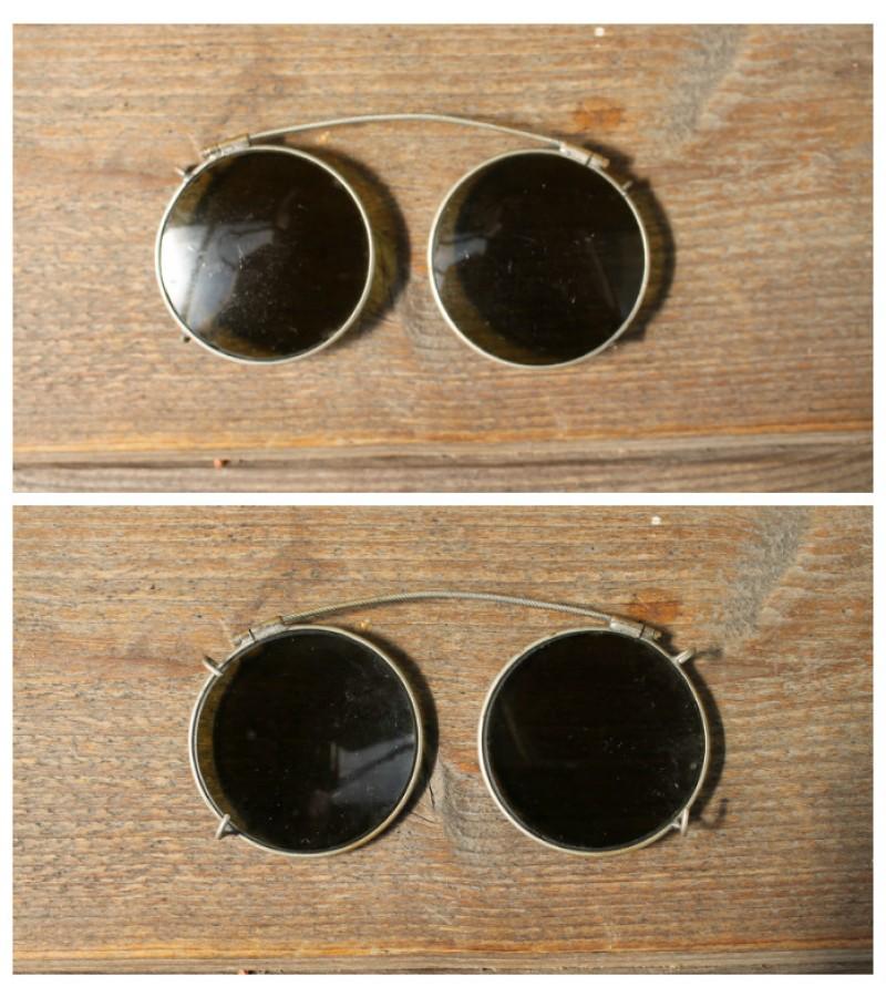 Antikvariniai akiniai nuo saules. Kaina 23