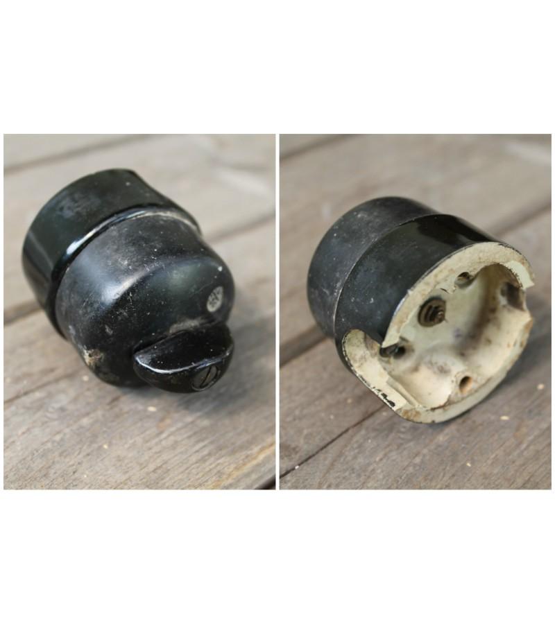 Antikvarinis keraminis jungiklis. Kaina 18
