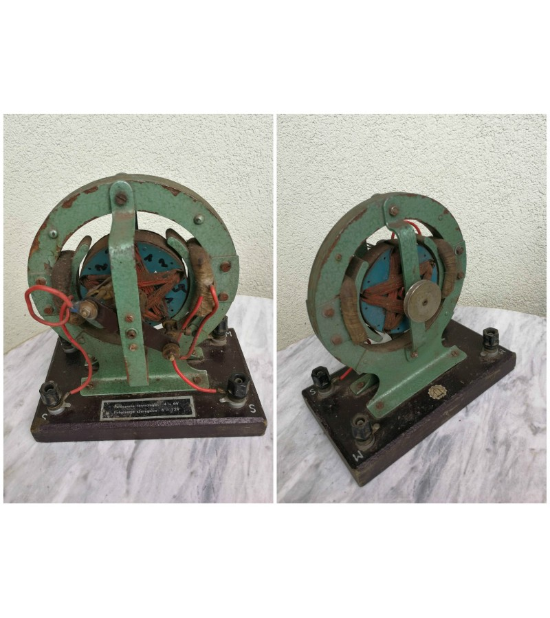 Antikvarinis elektros generatoriaus modelis. Kaina 87