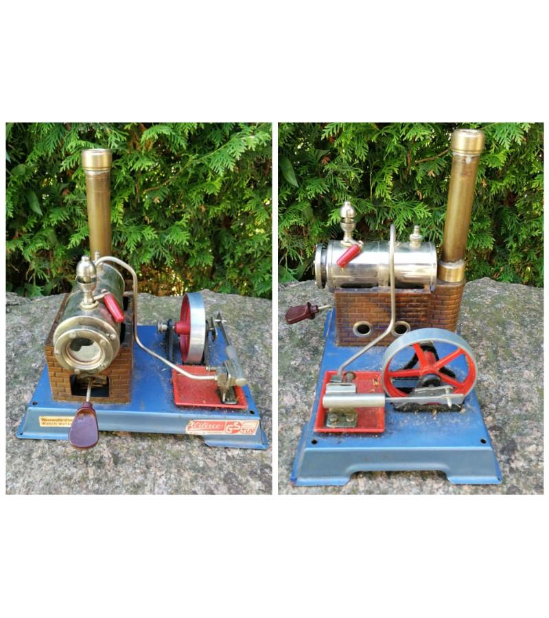 Industrinis modelis garo variklio. Kaina 107