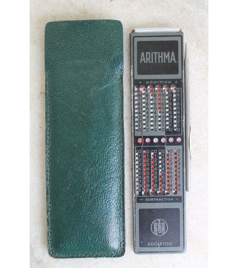 Skaiciuotuvas, aritmometras Arithma. Kaina 17