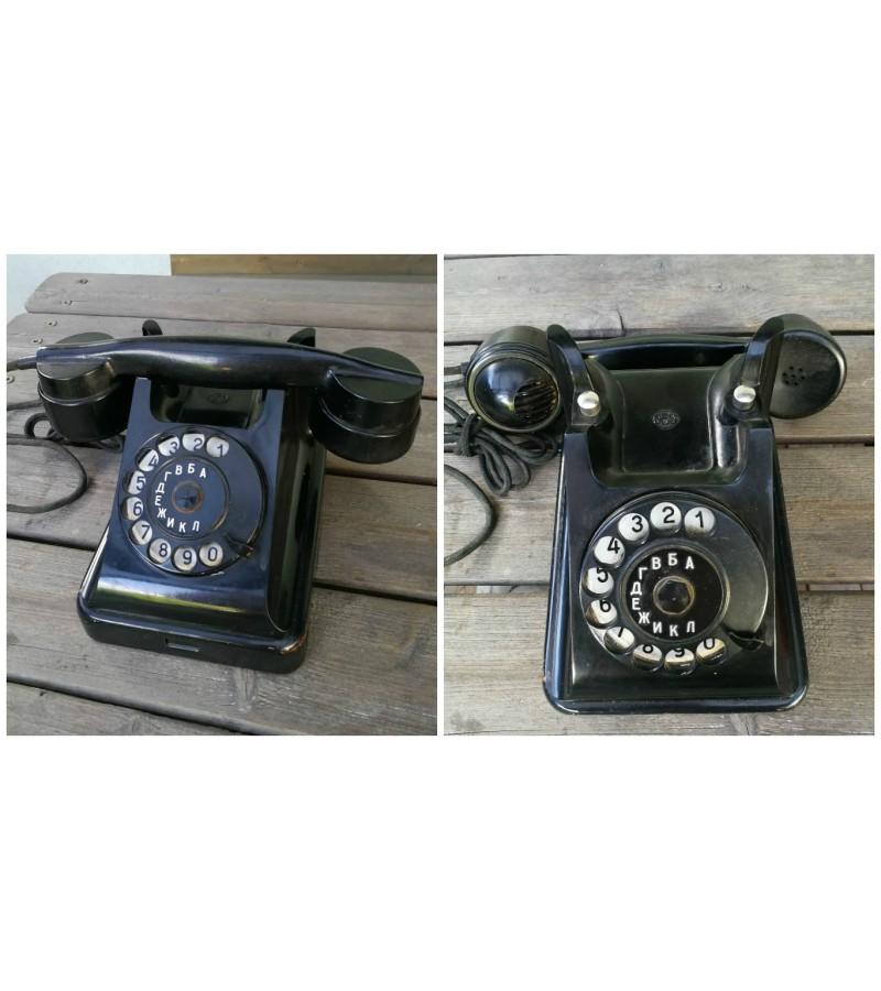 Penktojo desimtmecio telefonas VEF, naudotas Kaune. Kaina 72