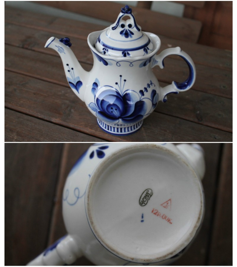 Senojo Gzel arbatinis. Kaina 32