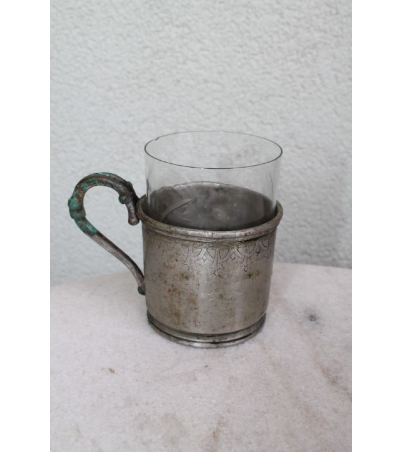 Podstakanik N. Liachovskij. Tea glass holder. Kaina 41 Eur.