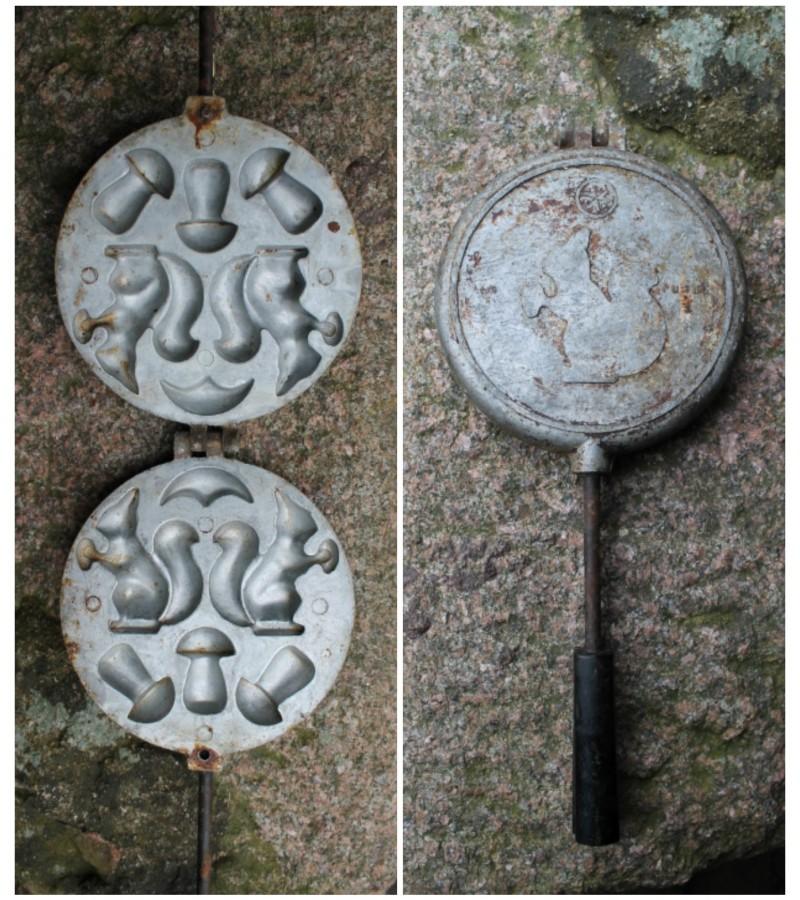 Formine grybuku-voveraiciu keptuve. Kaina 27 Eur.