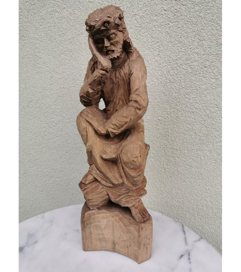 Rūpintojėlis medinis, didelis. Kaina 157