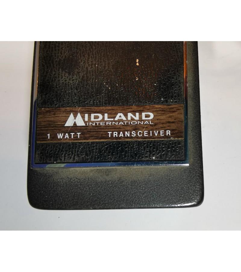 Racijos vintažinės Midland transreceiver Model 13-700, Japan. 1969 m. 2 vnt. Kaina 42 už abi