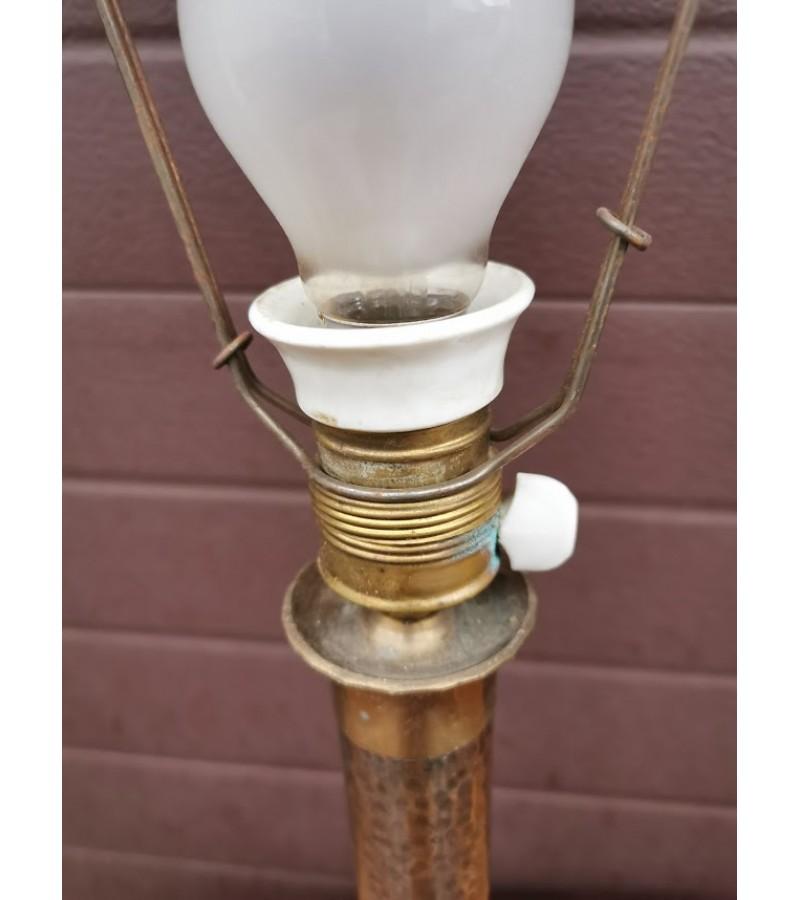 Stalinis šviestuvas antikvarinis, veikiantis. Varis, bronza, keramika. Kaina 63