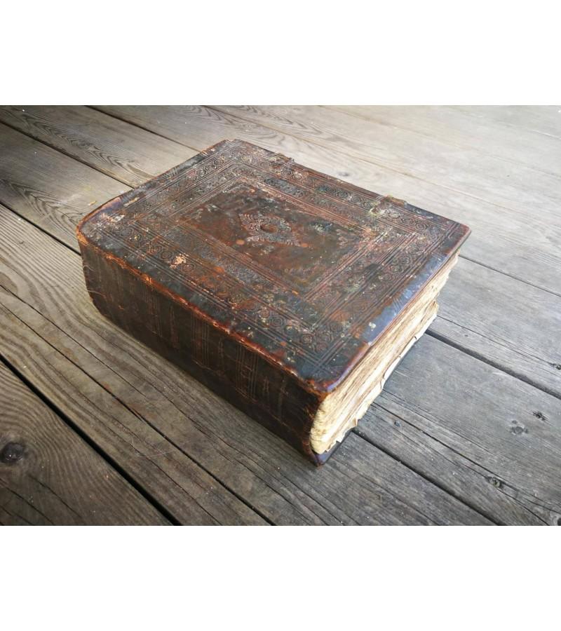 Biblija, Šventasis raštas, antikvarinis stačiatikių, krikščionių ortodoksų. Rusijos imperija. Kaina 565