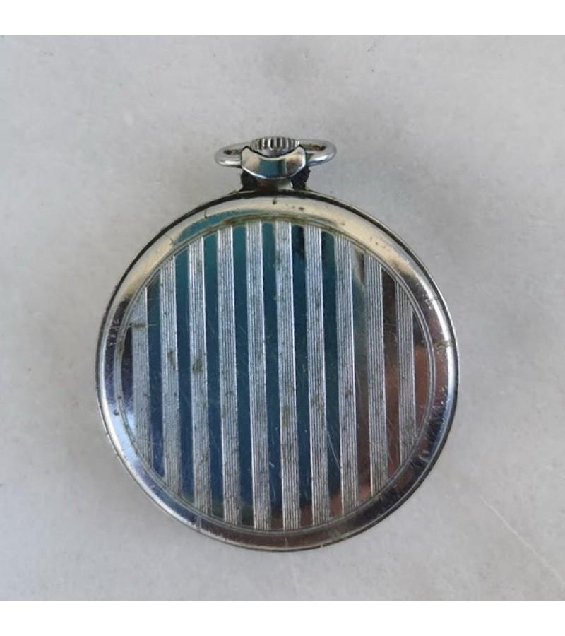 Laikrodis Molnija kišeninis, tarybinis, sovietinių laikų. Veikiantis. Kaina 42