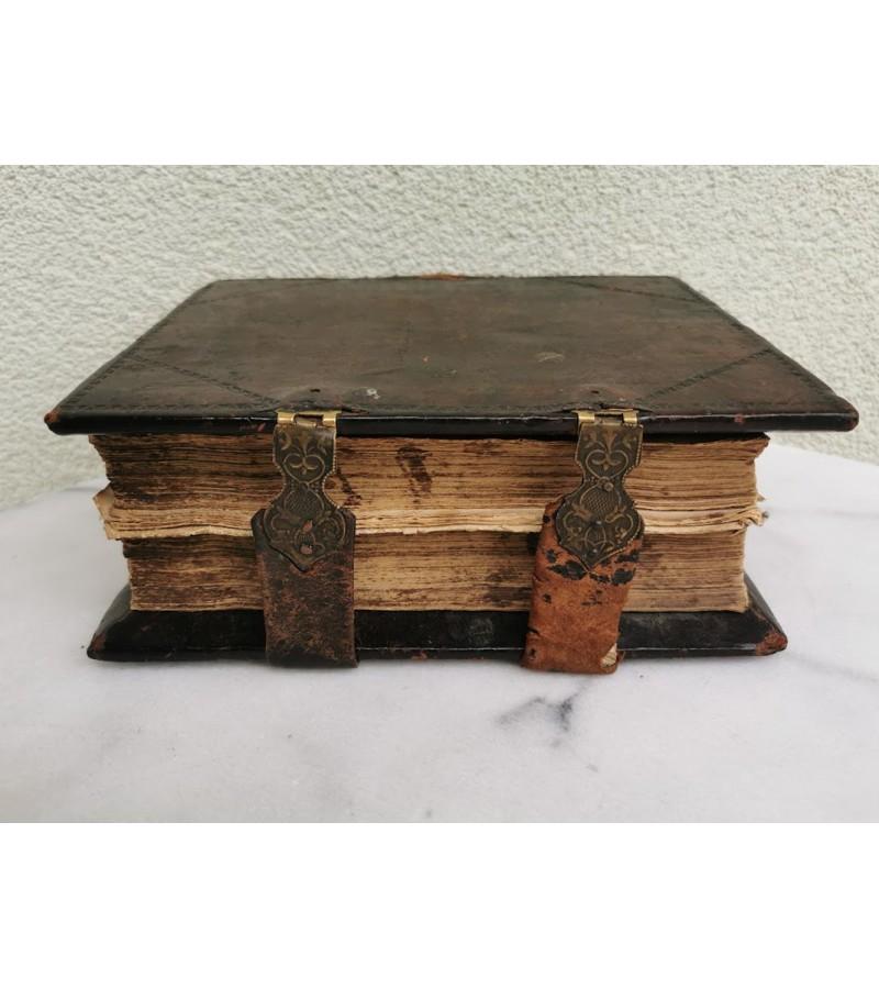 Biblija, Šventasis raštas, antikvarinis stačiatikių, krikščionių ortodoksų. Rusijos imperija. Kaina 315