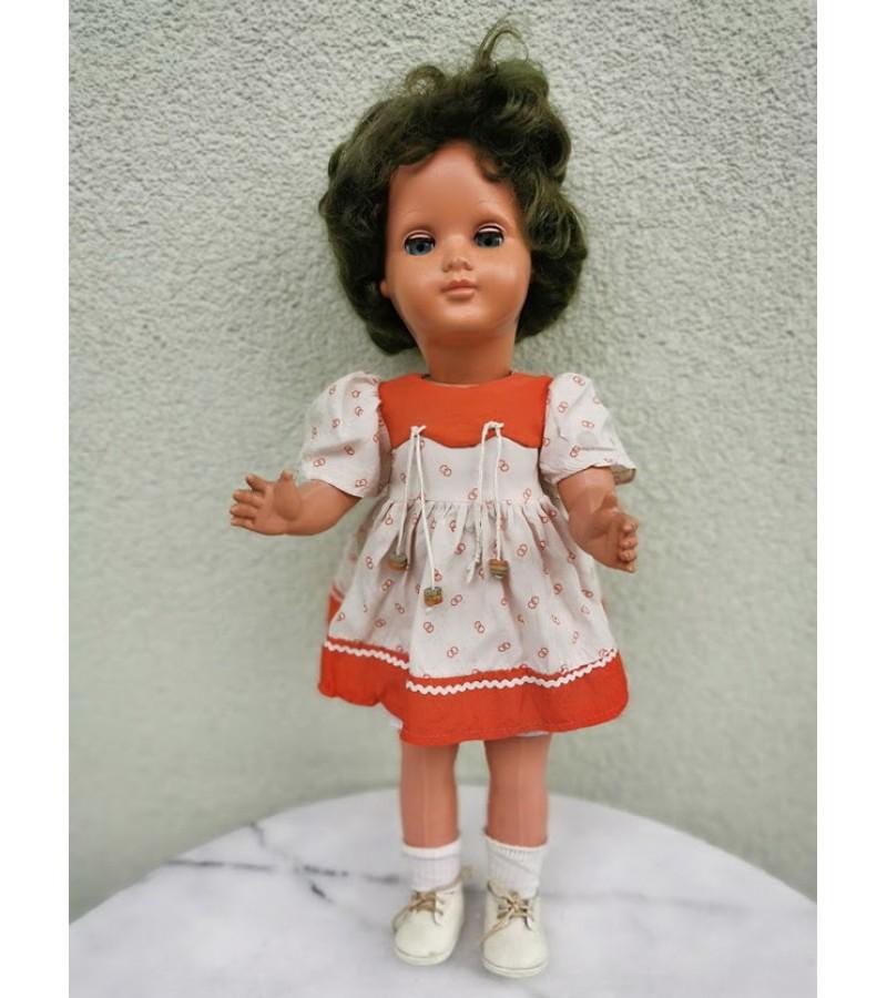 Lėlė vintažinė, kolekcinė. Vokietija, gamintojo ženklas. Kaina 52