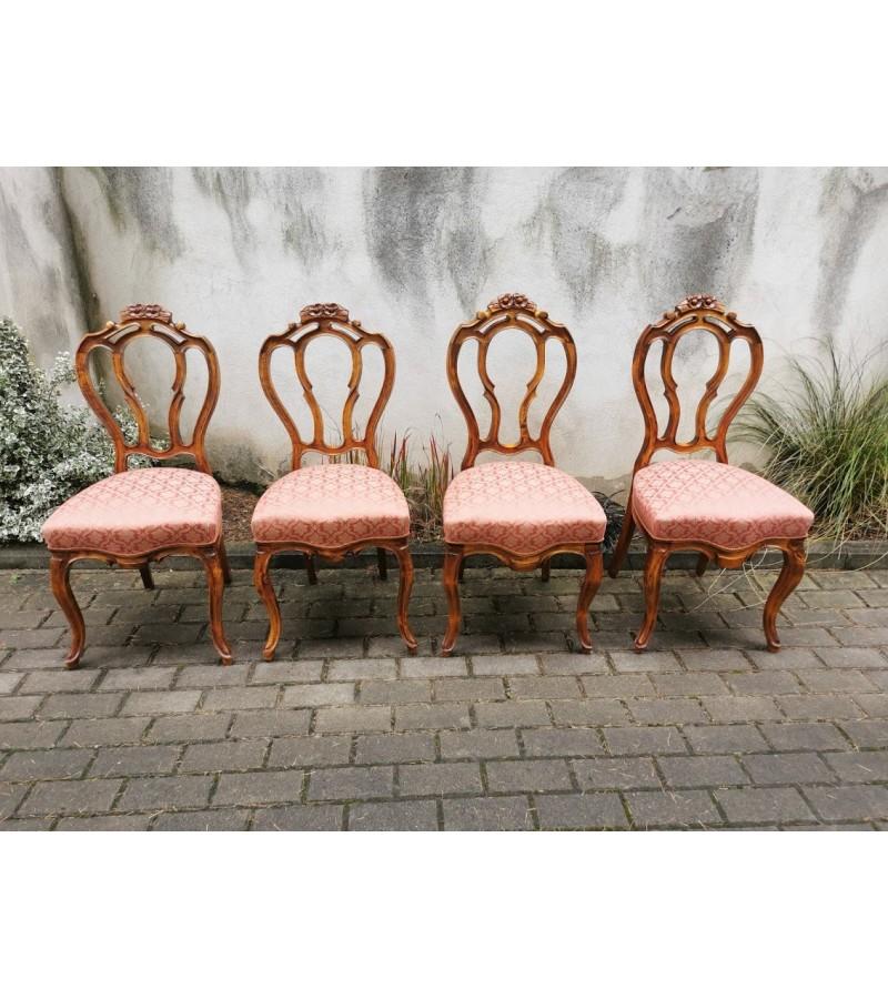 Kėdės antikvarinės, tvirtos. 4 vnt. Kaina po 52