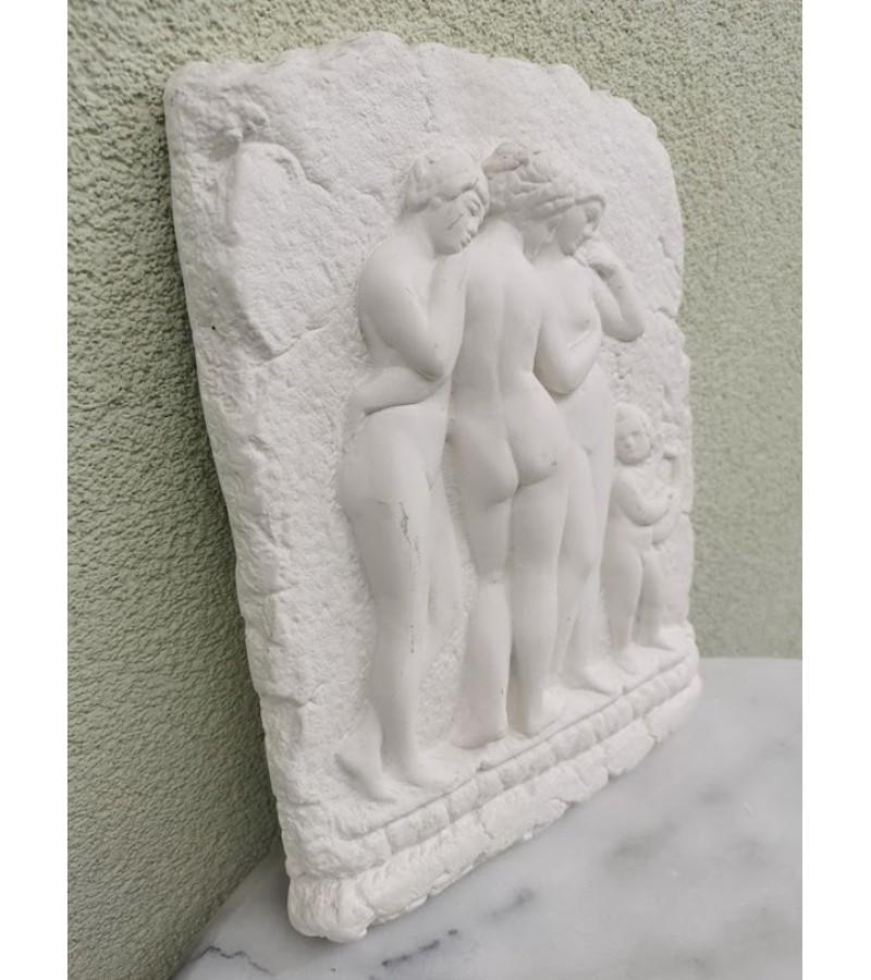 Bareljefas gipsinis antikine tema. Kaina 52