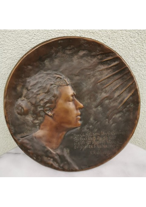 Bareljefas 1897 m. GERDA SPRINCHORN. Kaina 72