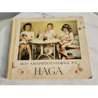 Knyga Su mažosiomis princesėmis Hagoje. 1942 m. Kaina 17