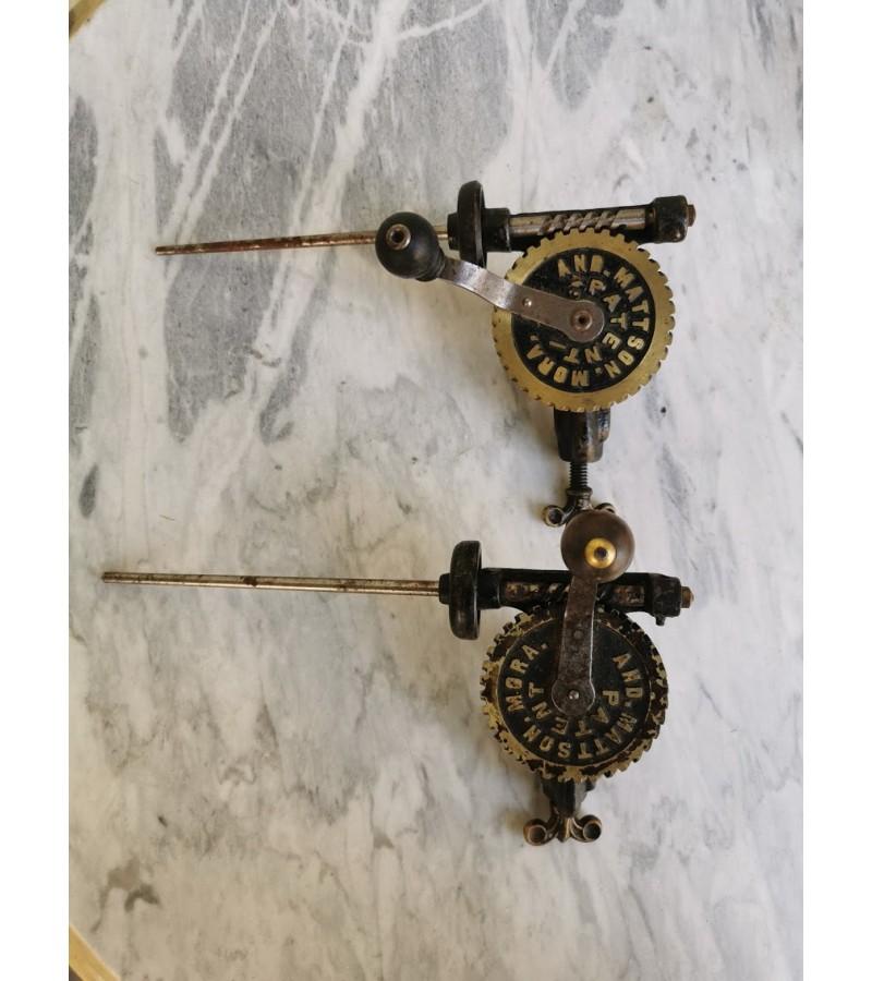 Įrankiai antikvariniai Mattson Mora špagatui. XX a. pradžia. 2 vnt. Kaina po 52
