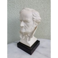 Biustas autorinis, porcelianinis (biskvito) - kompozitorius Vagneris (Wagner). Kaina 87