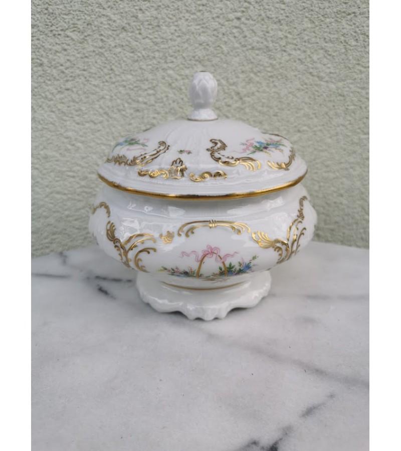Indas, cukrinė porcelianinė Rosenthal Sanssousi. Kaina 52