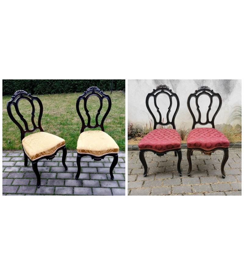 Kėdės antikvarinės. Tvirtos. 4 vnt. Kaina po 42