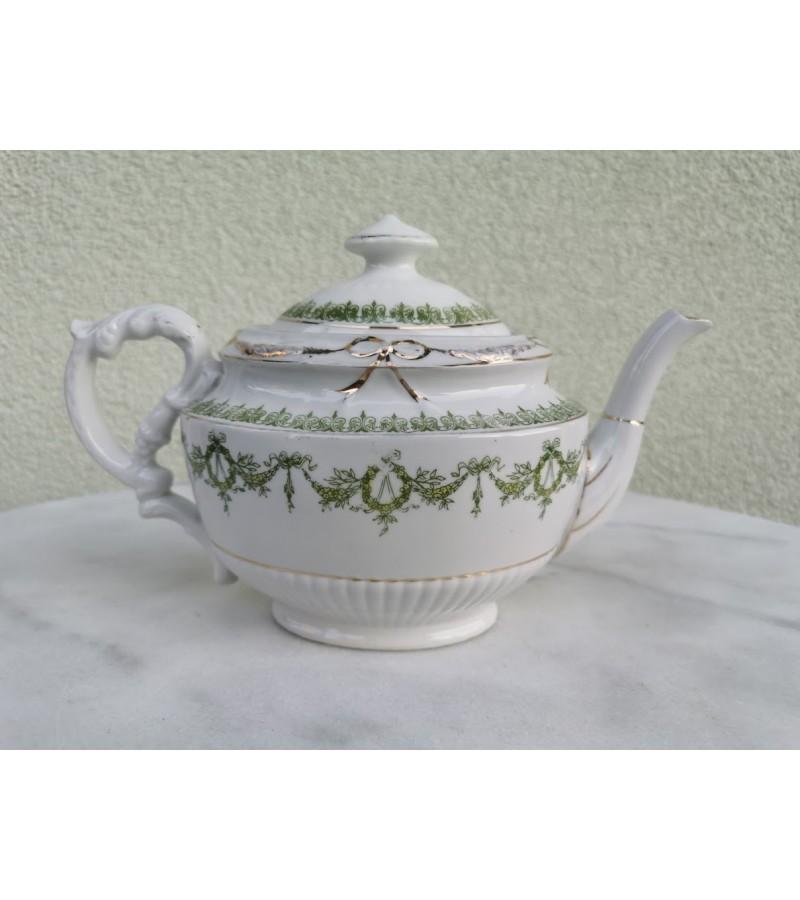 Arbatinis porcelianinis, antikvarinis. Kaina 16